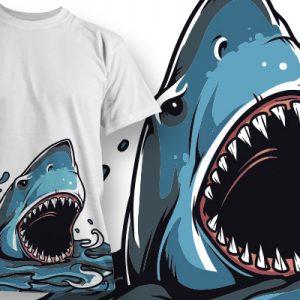 Vigyázat cápa támadás!