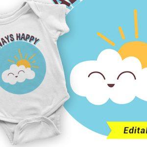 Mindig legyél boldog kis felhő
