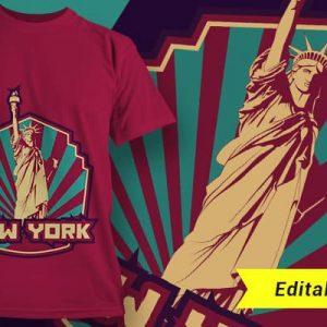 Helló New York, éljen a szabadság!