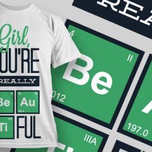 Elmondom a kémia nyelvén milyen szép vagy