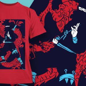 Egy szamuráj harcos belső békét teremt
